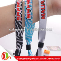 Hand woven bracelets wristbands for event