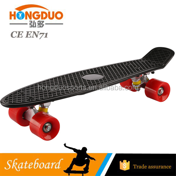 New 22inch plastic skateboard with CE certification