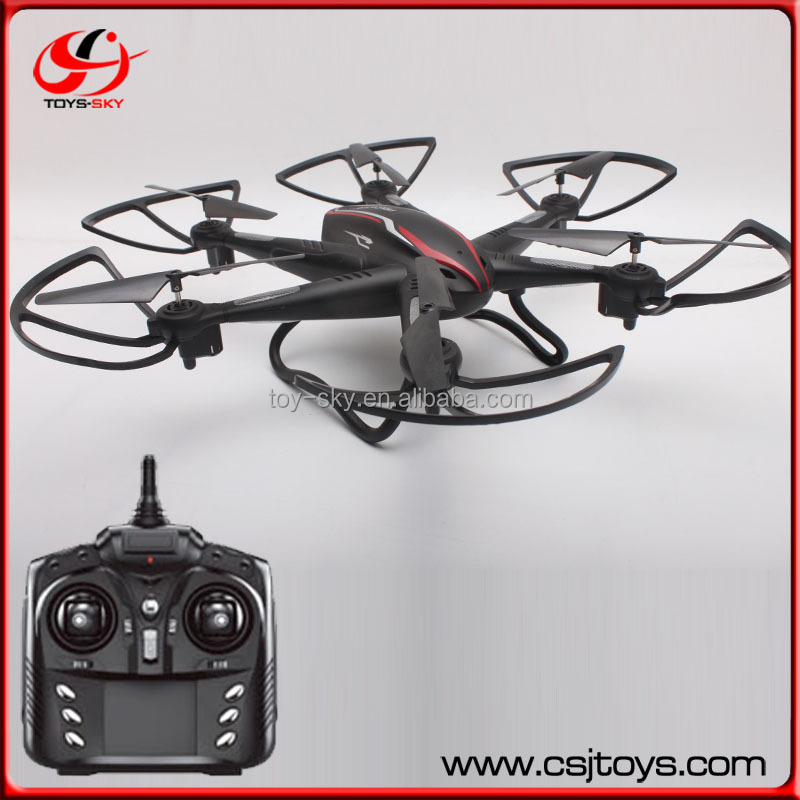 Shantou chenghai toy factory Six Drone Motor Long distance drone hexacopter with spy cam