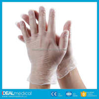 Cheap hot sale !High quality hairdressing disposable vinyl gloves with CE