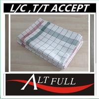 Wholesale Alibaba China Promotional 100% Cotton Yarn Dyed Custom Kitchen/Tea Towels
