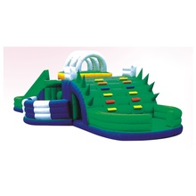 2015 Super bounce giant inflatable bumper playground
