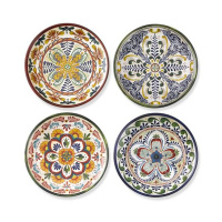 Top grade vintage melamine dinner plates for star hotel