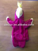 soft toy chicken puppet unstuffed cartoon animal skin kids soft toys for sale