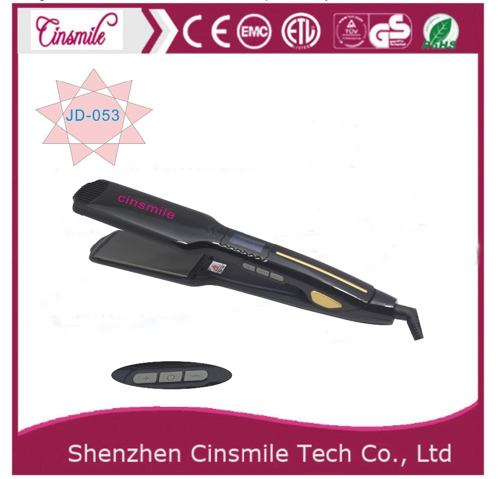 Narrow small plate Electric personalized hair straightener hair flat iron for short hair