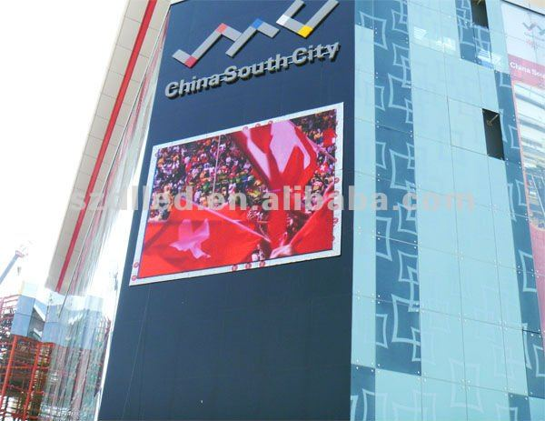 hot sales electronic products p12 advertising used led display screen
