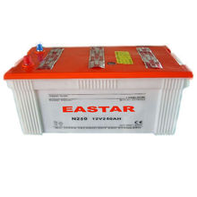 High Capacity Dry Charged Car Battery N250 12V 250AH, Start Battery For Africa Market