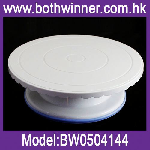 Decorating cake turntable h0tLH plastic tilting cake stand for sale