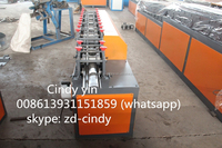 Automatic steel shutter door frame forming machine