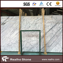 New Statuario Venato Statuary White Marble Slab for Marble Flooring Types