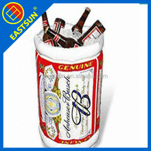 Inflatable Floating Party Bottle Holder Beer Cola Drink Inflatable Cooler holder for gift
