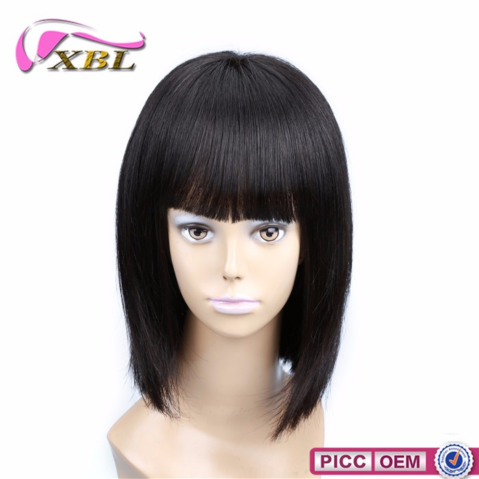 Human popular 100% virgin real hair wigs wholesale lace front wigs human hair