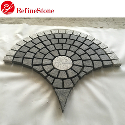 cheap outdoor driveway paving stone,China granite stone pavers for sale