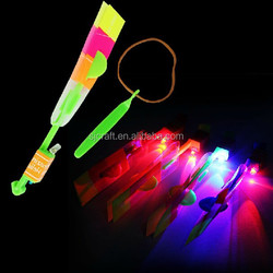 blue /red led flying arrow helicopter HOT SELL SJ-FA01