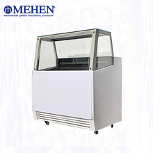 Top quality small italian ice cream display freezer for wholesale