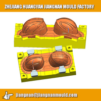 plastic injection mould parts,plastic safety helmet injection mould,motorcycle parts plastic injection moulding