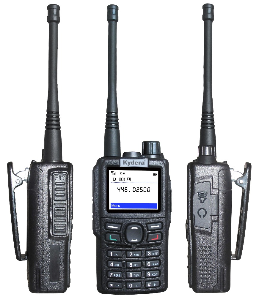 Digital Walkie Talkie dPMR -- DP-550S FDMA, Analog & Digital Mode