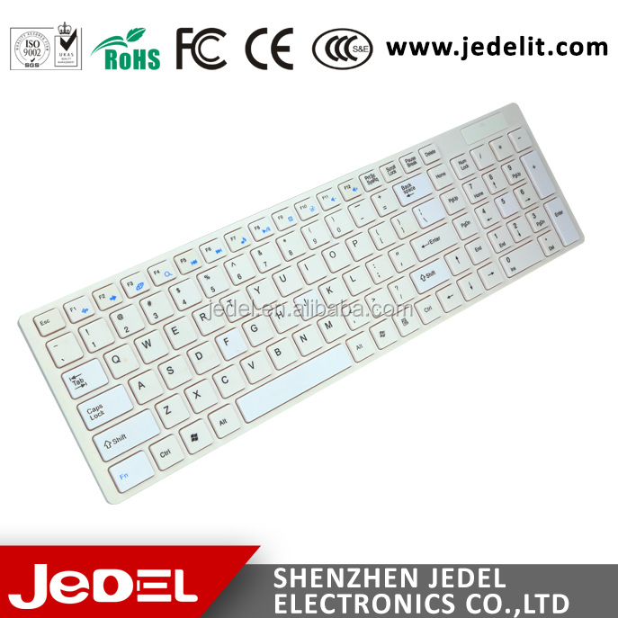 2017 Hot New Products Light Simple Multimedia 2.4GHz Wireless Mouse Keyboard Combo for Laptop