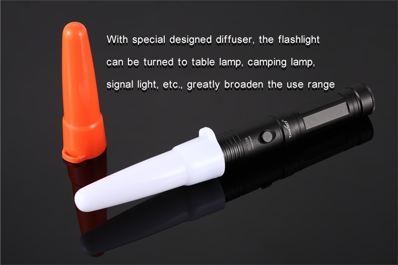 Factory supply high power aluminium rechargeable led geepas flashlight