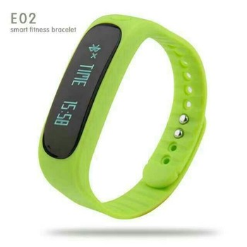 Healthy Life Intelligent Wearable Bracelet E02 Bluetooth Smart Sports Waterproof Wristband