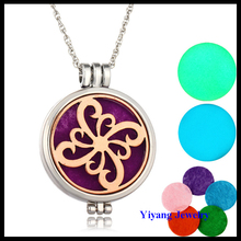 Yiwu Newest Flower Diffuser Chain Necklace