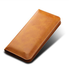 High grade design nice leather wallet phone case for iphone 8