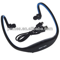 Promotional, Hands free Sport MP3 with TF card slot earphone mp3 player