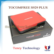 Tocomfree S929 plus support IPTV 4k hd satellite receiver