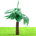 Miniature Scale model trees / plastic palm trees for model making landscape S22