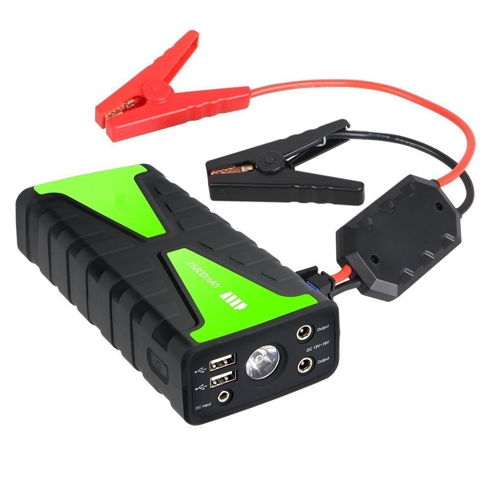 16800mah inverter function car power station 6.0L powerful car jumpstart mini booster for 12V diesel and gasoline vehicles