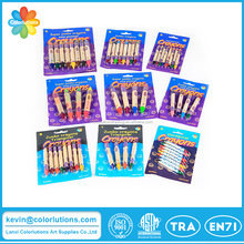 Professional double ended crayon in blister card