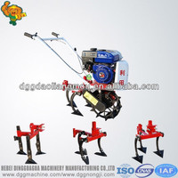 Farm cultivator walking tractor machine rotary hoe