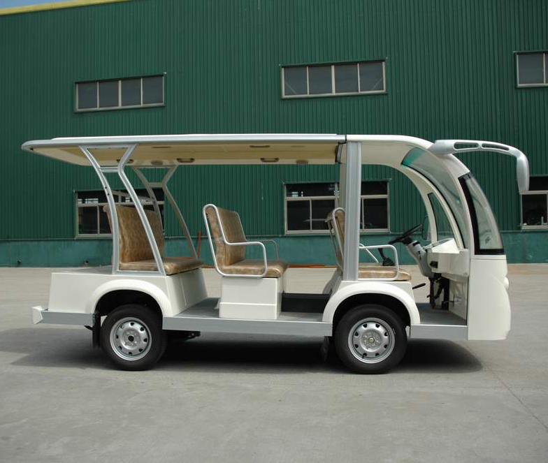 four wheel electric vehicle for sightseeing bus EG6088K CE