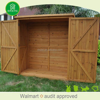 DXGH017 2016 hot portable made in China wooden bike storage shed