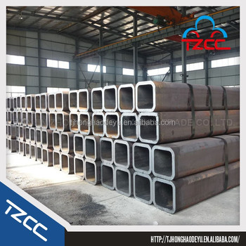 high quality square rectangular steel pipe