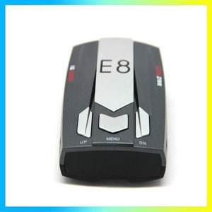 E8 cars accessories travelling security radar detection prewarning device combined gps for russia only radar detector