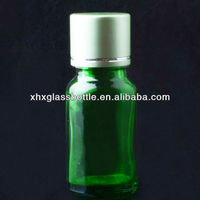 Wholesale 10Ml Green Health Care Essential Oil Aroma Therapy Glass Bottle With Screw Cap