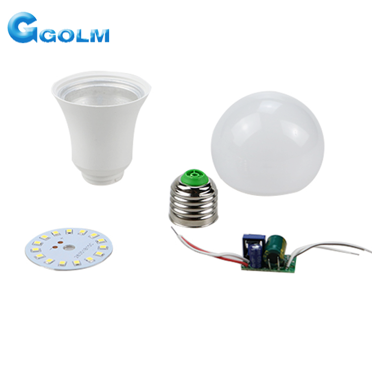 cheap wholesale AC160-265V led bulb skd part ,90-100 LM/<strong>W</strong> skd for led bulb