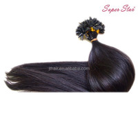 Factory sale excellent quality pre-bonded hair extension with workable price