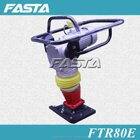 FASTA FTR80E electrical tamping rammer machine, soil compactor rammer