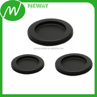Customized Black Rubber Oval Hole Plugs with Excellent Quality