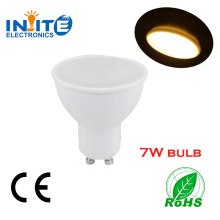 7W MR16 GU10 LED Spotlight with 2years warranty made by Ningbo factory who has