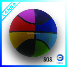 5# promotional cheap custom rubber basketball