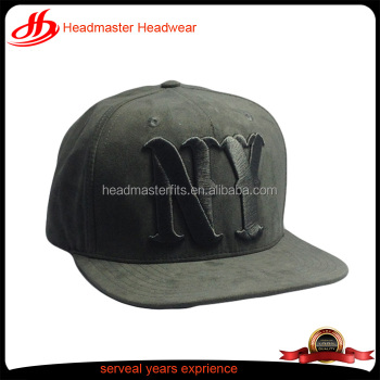 custom suede snapback hats wholesale 5 panel embroidery ny suede snapback  hats 4f9cd05581c