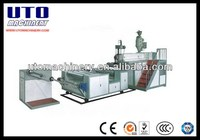 2 Layer PE air bubble film Extruder Forming Machine