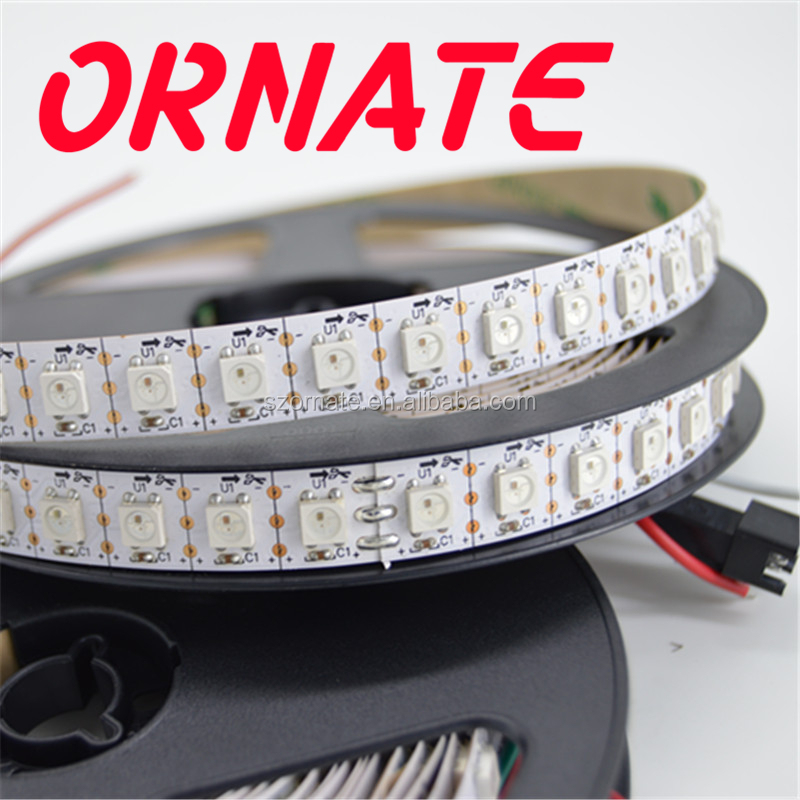SK6812 , ws2812B 30leds/m dmx rgb led rope lighting strip 5v