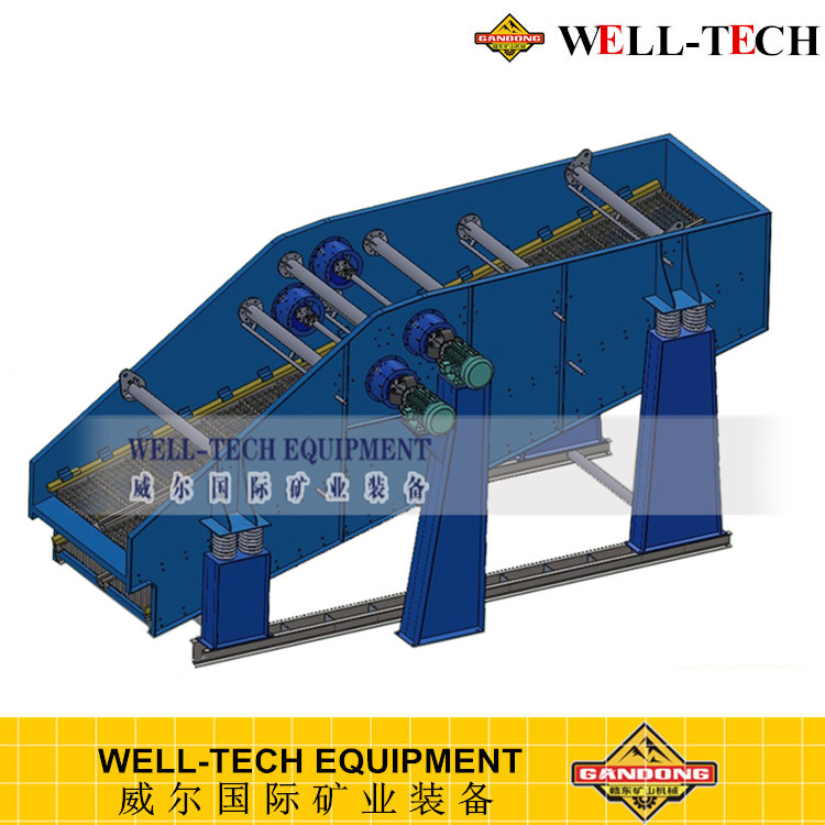 vibrating grizzly bar screen for gravel