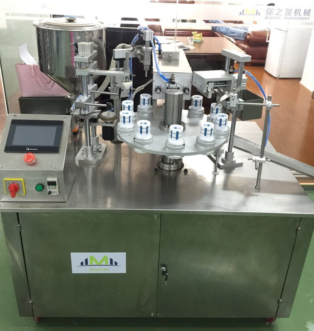 New and factory price Ultrasonic plastic and complex filling and sealing tube machine