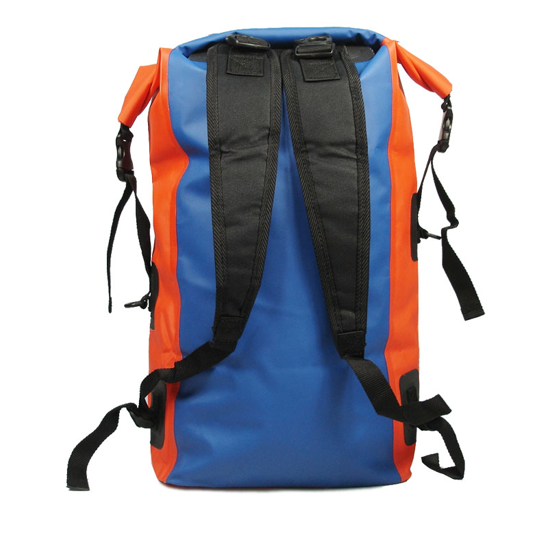 accept customer logo printing color waterproof outdoor sport Dry bag shoulder backpack