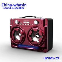 Guangzhou,Foshan,Shenzhen 2.0 multimedia active speaker with USB, SD, FM ratio hot style speaker for ourdoor, stage